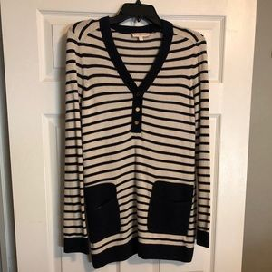 Tory Burch sweater with front pockets